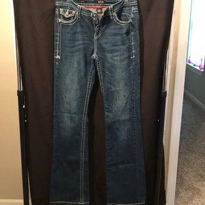 a.n.a boot cut size 30/10T ladies blue jeans